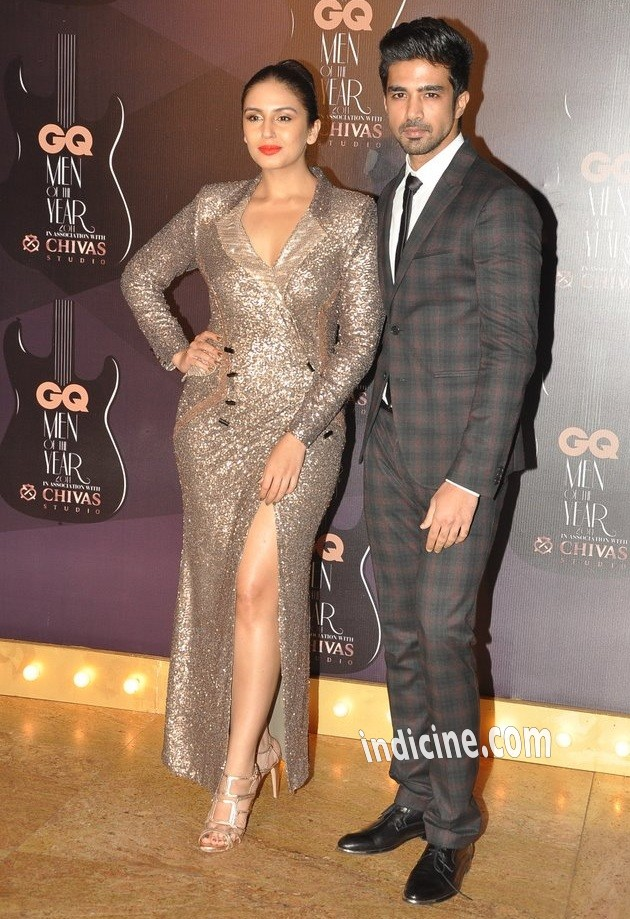 Huma Qureshi with Saqib Saleem