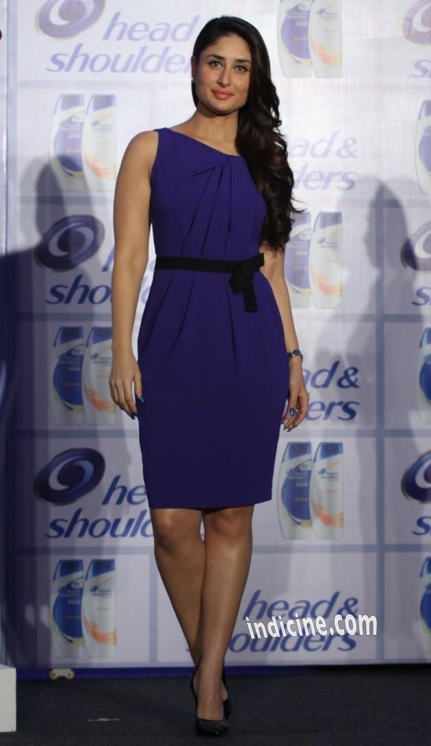 Kareena Kapoor unveils new range of shampoo brand