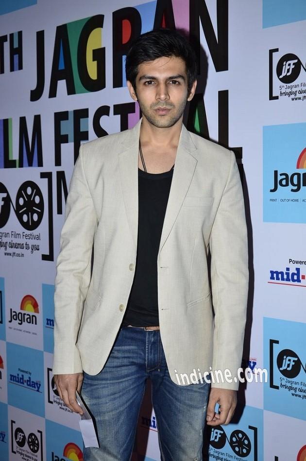 Kartik Tiwari at 5th Jagran Film Festival launch