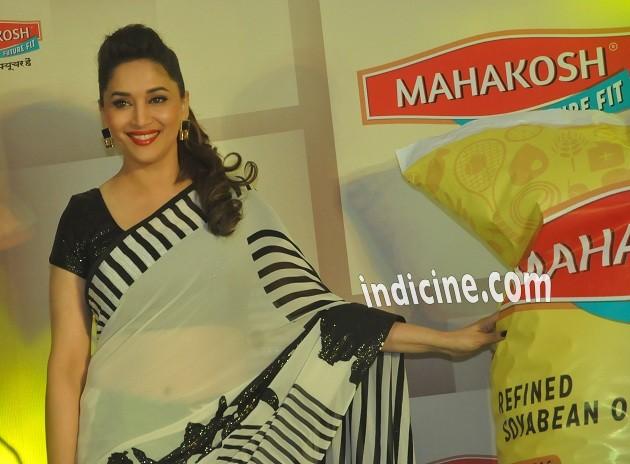 Madhuri Dixit launches Mahakosh edible oil
