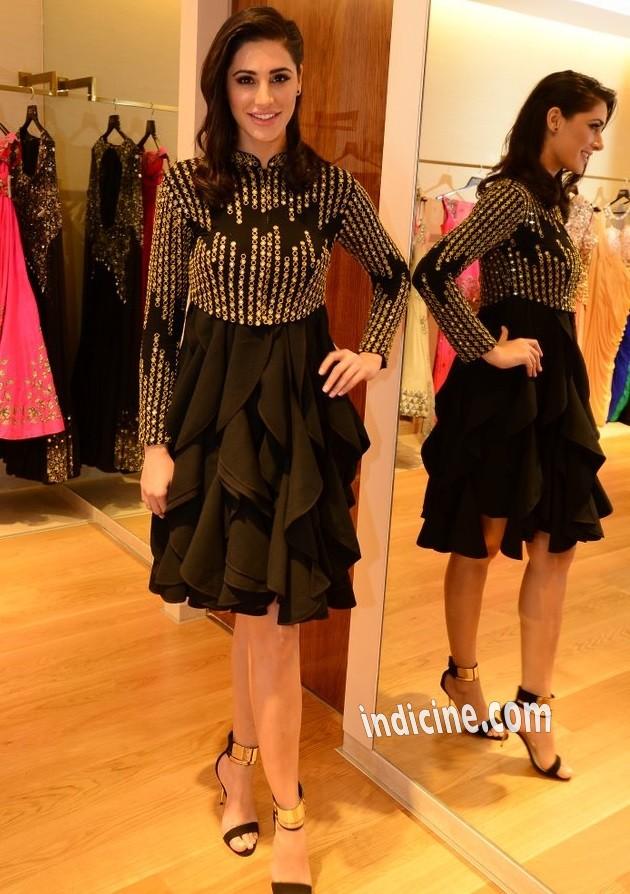 Nargis Fakhri at Aza store launch in Bandra