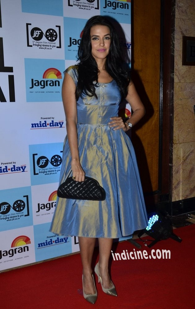 Neha Dhupia at 5th Jagran Film Festival launch