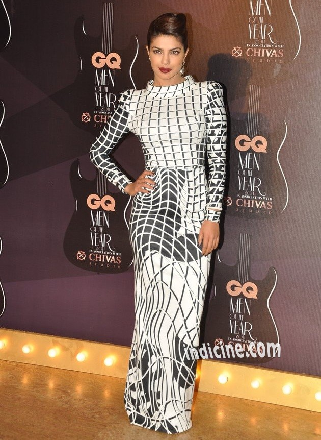 Priyanka Chopra at GQ Men of the year awards 2014