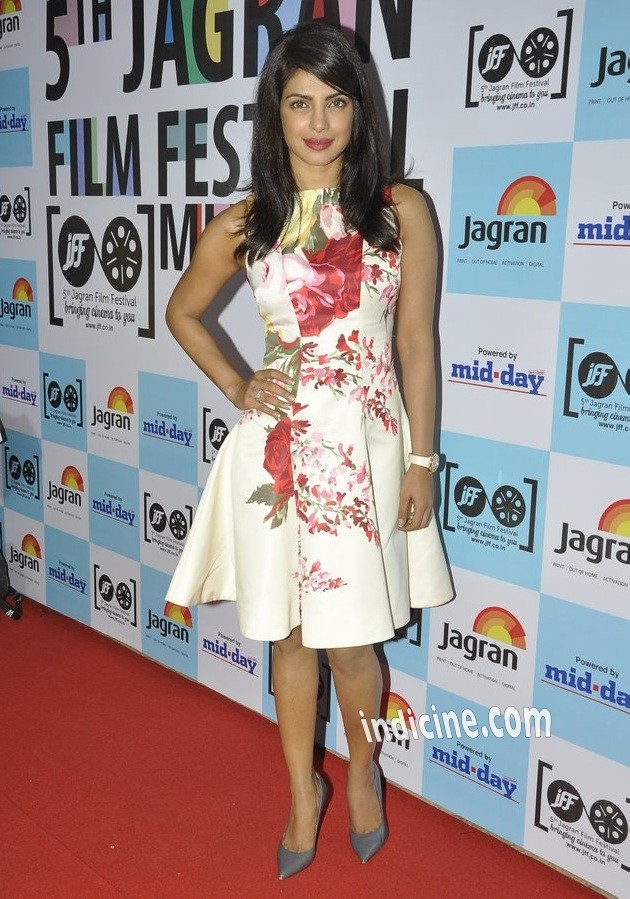 Priyanka Chopra at the launch of 5th Jagran Film Festival Mumbai
