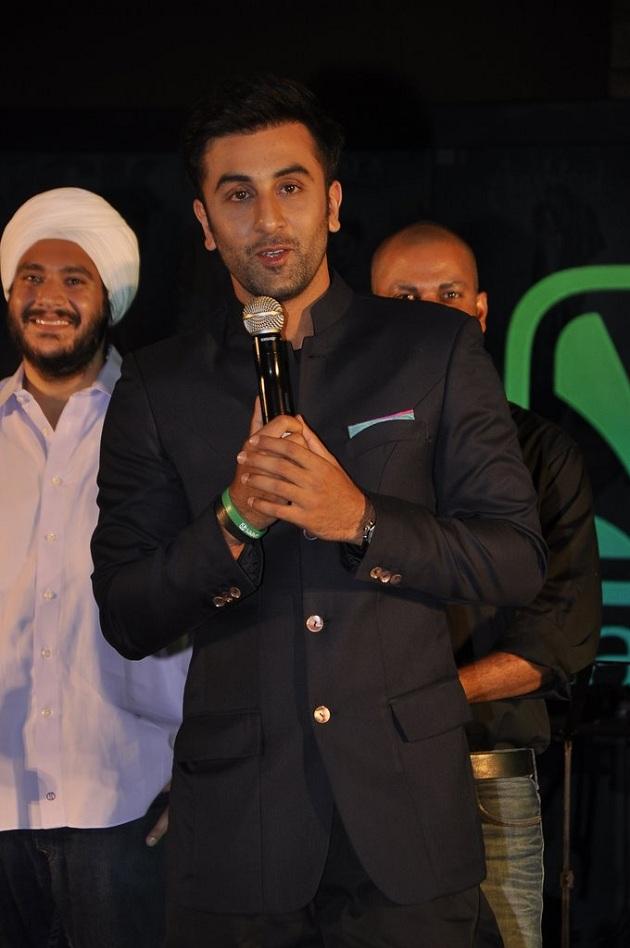 Ranbir Kapoor at Saavn success bash