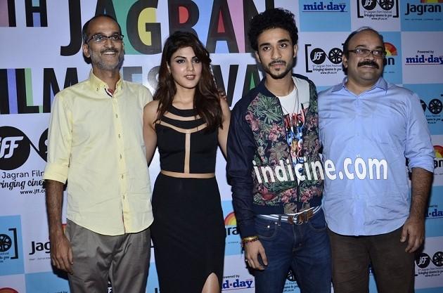 Rohan Sippy, Rhea Chakraborty and Raghav Juyal