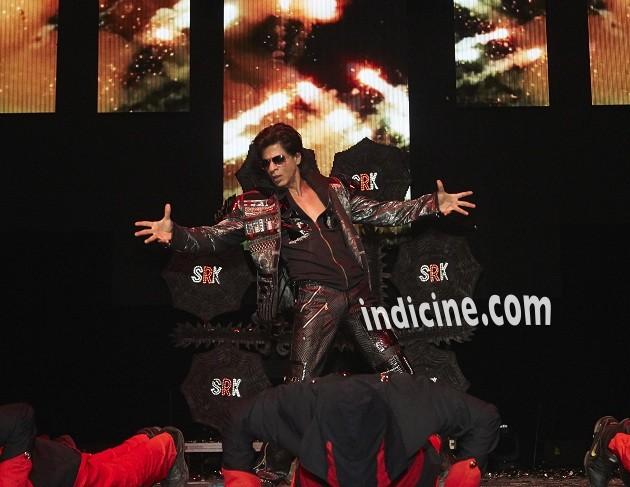 Shahrukh Khan performs at Slam The Tour