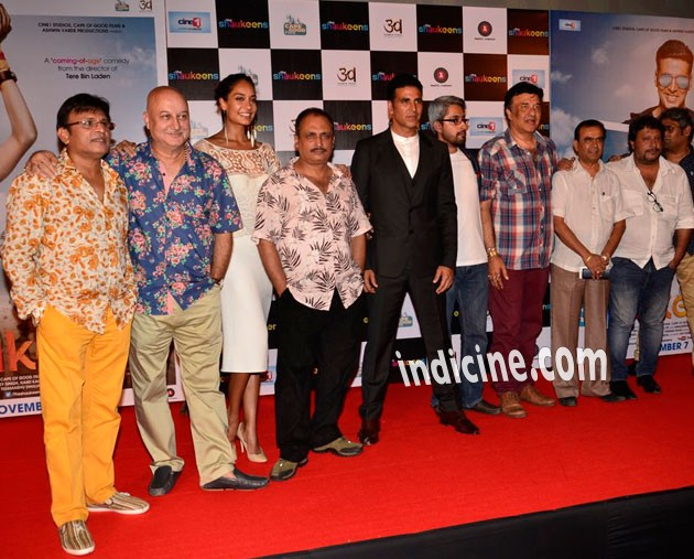 The Shaukeen team at the trailer launch