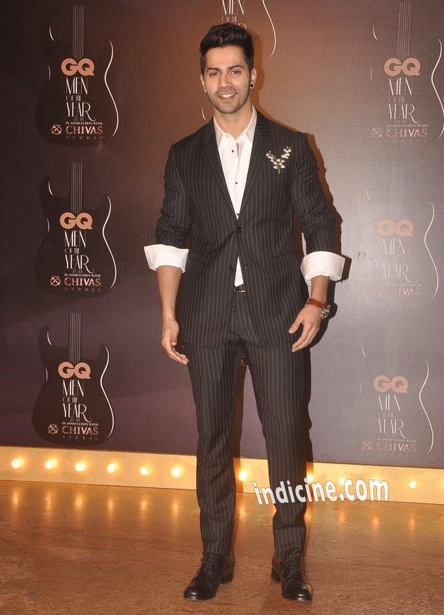 Varun Dhawan at GQ Men of the year awards