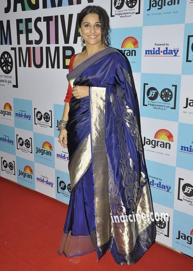 Vidya Balan at 5th Jagran Film Festival launch