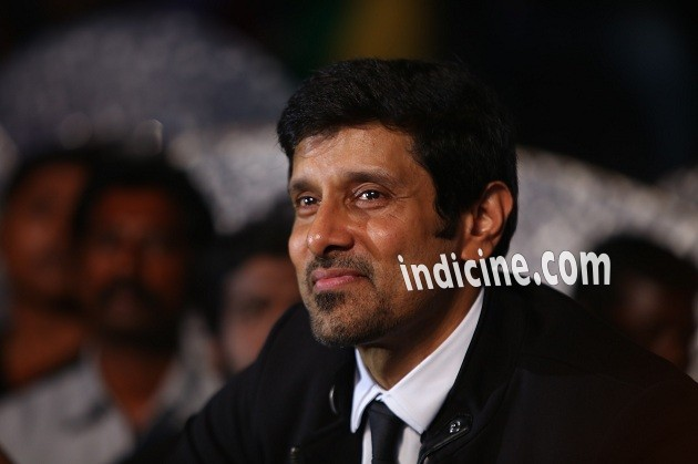 Vikram at I music launch