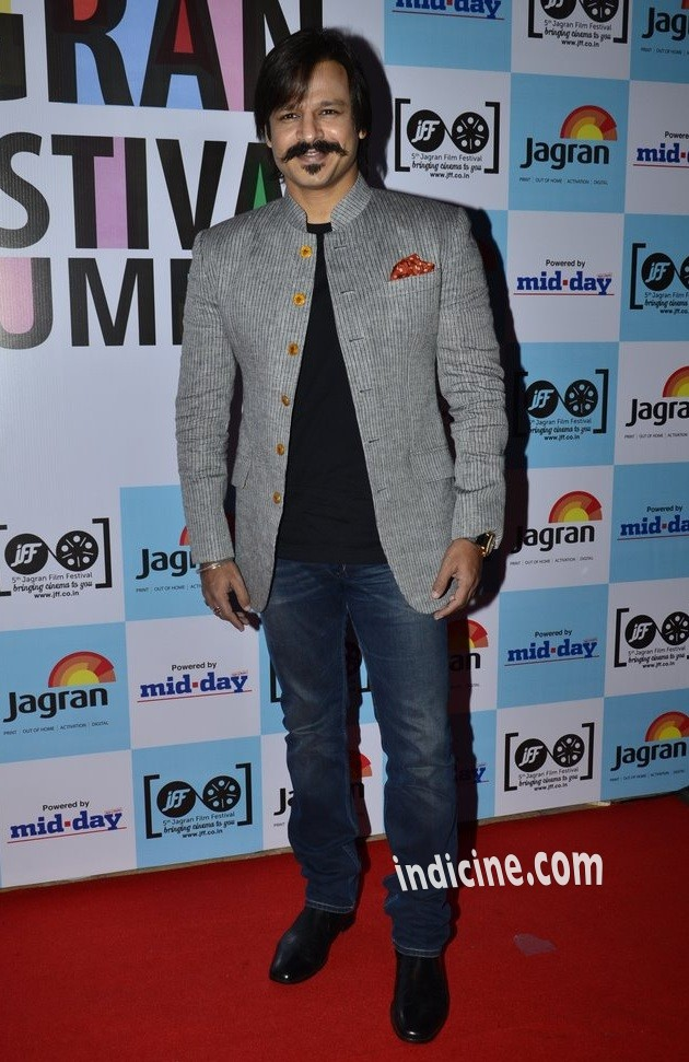 Vivek Oberoi at the launch of 5th Jagran Film Festival