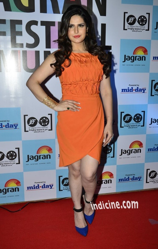 Zarine Khan at 5th Jagran Film Festival launch