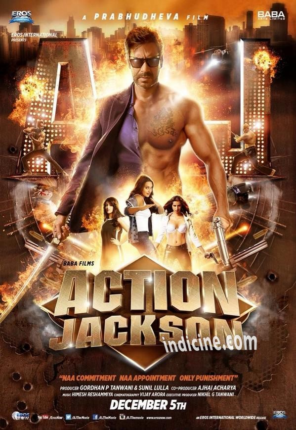 Action Jackson First Look