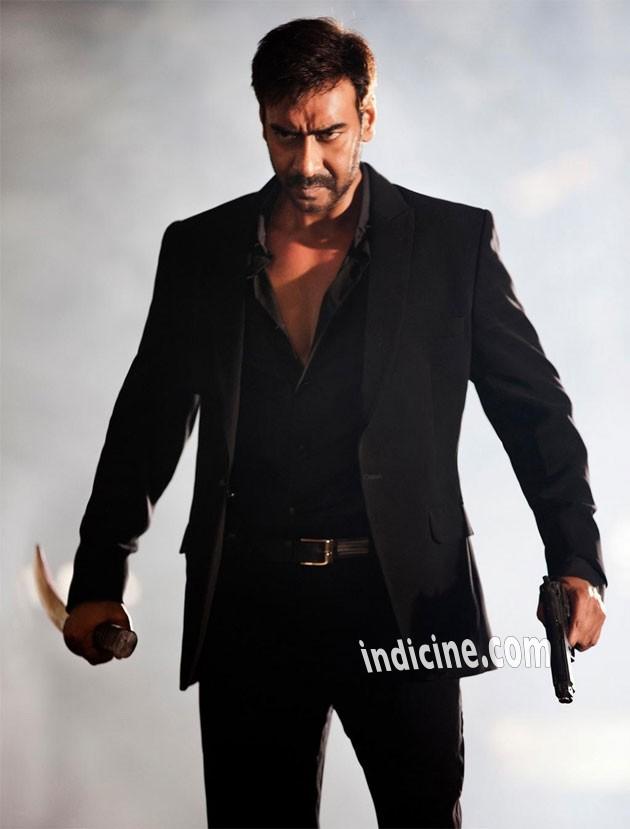 Ajay Devgan still from Action Jackson