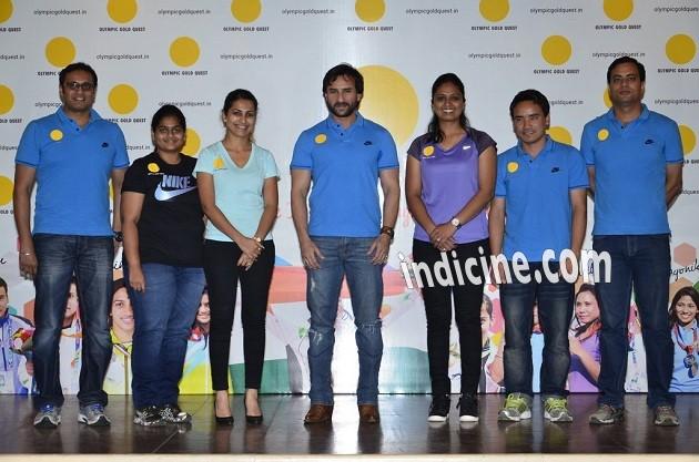 Prakash Nanjappa, Rahi Sarnobat, Heena Sidhu, Saif Ali Khan, Shweta Chaudhary, Jitu Rai and Sanjeev Rajput