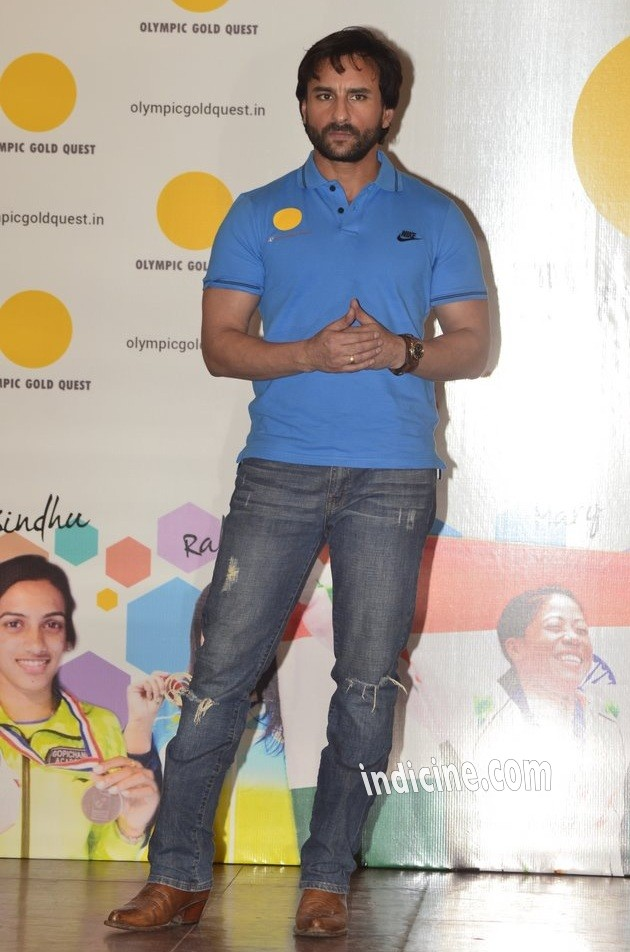 Saif Ali Khan felicitates winners of Asian games