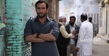 Saif Ali Khan in a still from Kabir Khan's much awaited action film Phantom