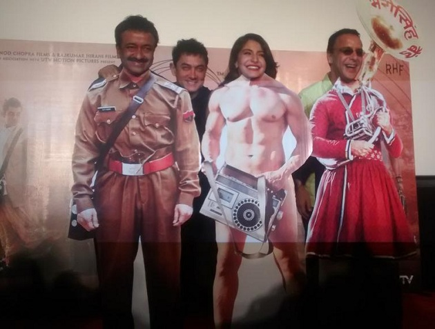 Team PK poses during the PK teaser launch