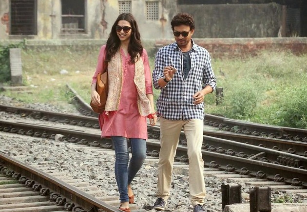 Deepika Padukone, Irrfan Khan shoot for Piku at Bagbazar Mayer Ghat