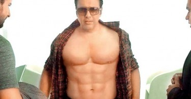 Govinda's six pack abs for Happy Ending