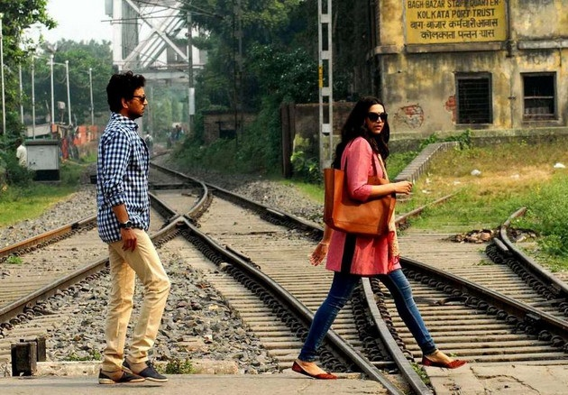 Irrfan Khan, Deepika Padukone shoot a train sequence for Piku