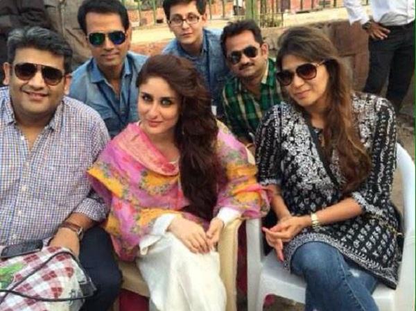 Kareena Kapoor on the sets of Bajrangi Bhaijaan