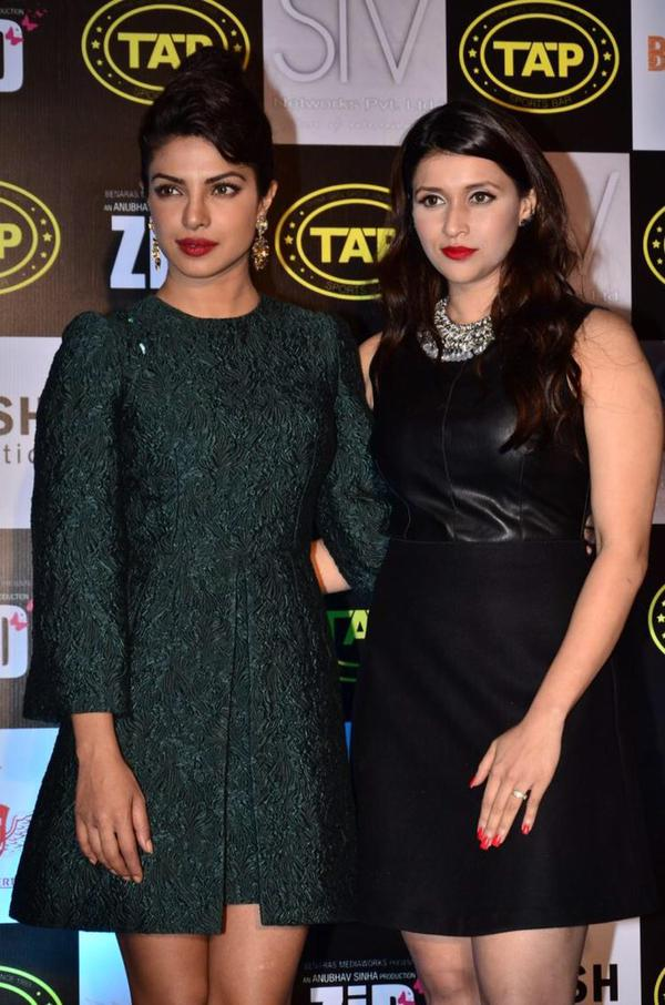 Priyanka Chopra with cousin Mannara
