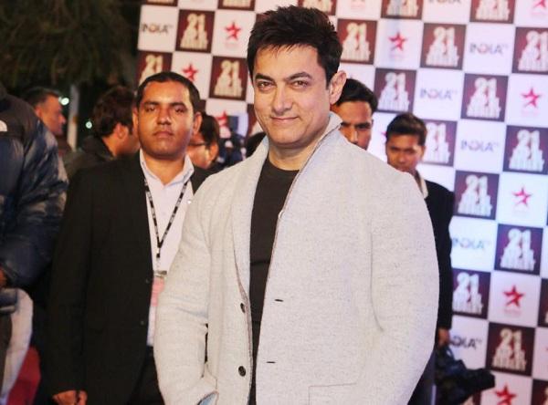 Aamir Khan at the 21 years of Aap Ki Adalat TV show