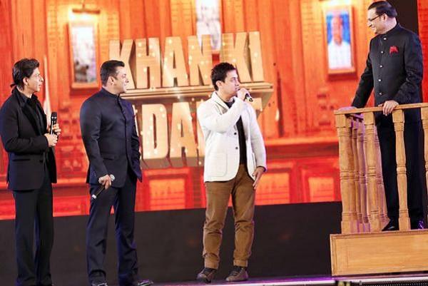 Shahrukh Khan, Salman Khan and Aamir Khan grace the 21 years of Aap Ki Adalat celebration