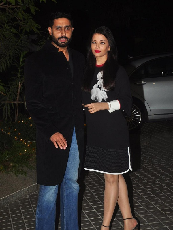 Abhishek Bachchan, Aishwarya Rai at Farah Khan's birthday bash