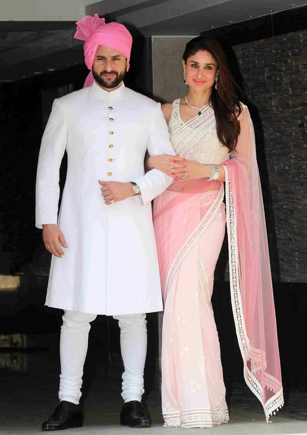 Saif Ali Khan, Kareena Kapoor at Soha Ali Khan and Kunal Khemu's Wedding