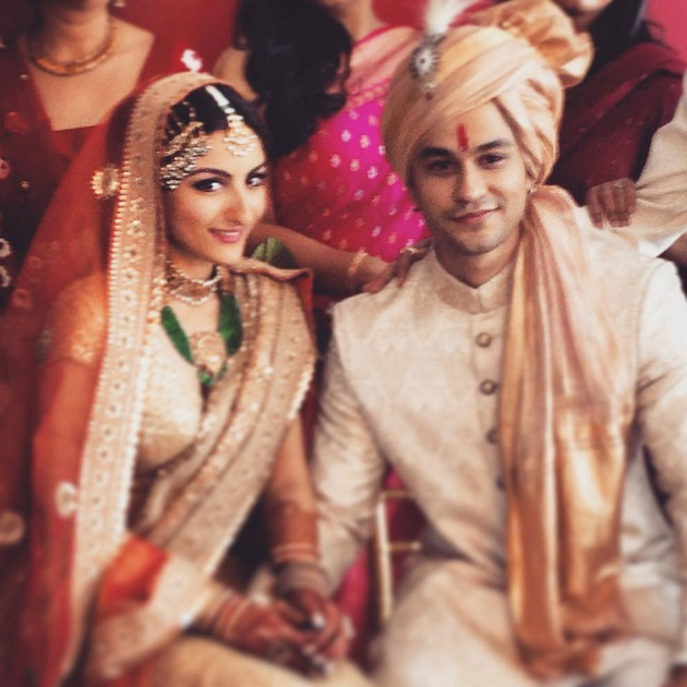 Soha Ali Khan gets married to Kunal Khemu