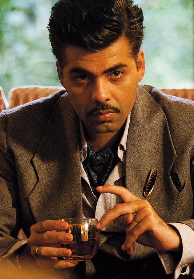 Karan Johar's look in Bombay Velvet