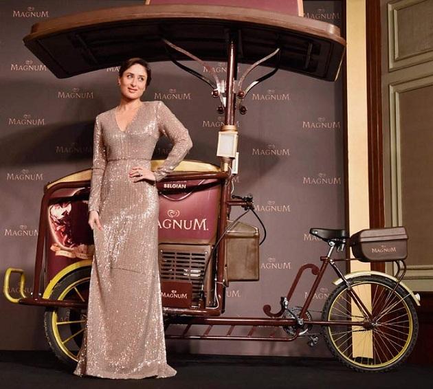 Kareena Kapoor promotes Magnum ice-cream brand