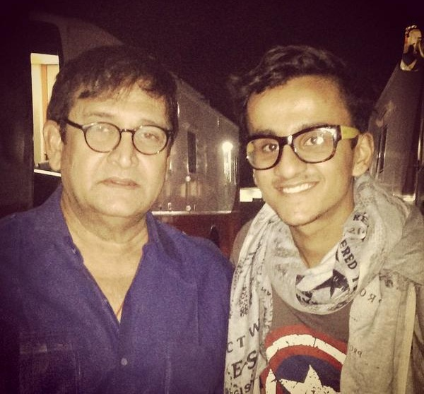 Mahesh Manjrekar on the sets of Bajirao Mastani