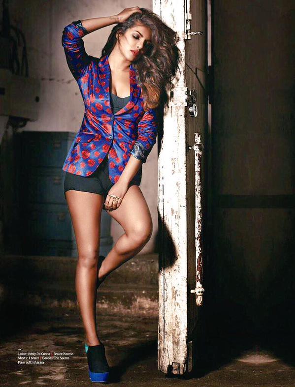 Priyanka Chopra Filmfare Magazine Scan