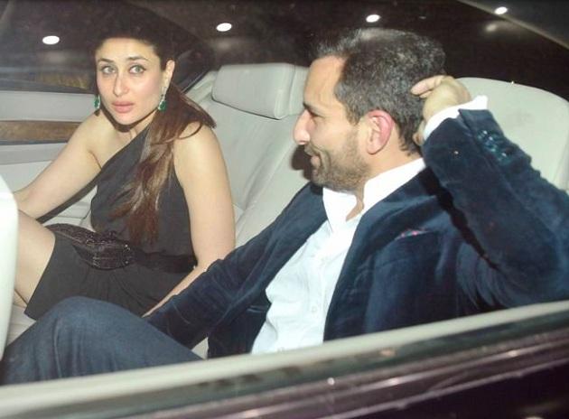 Saif Ali Khan with wife Kareena Kapoor Khan