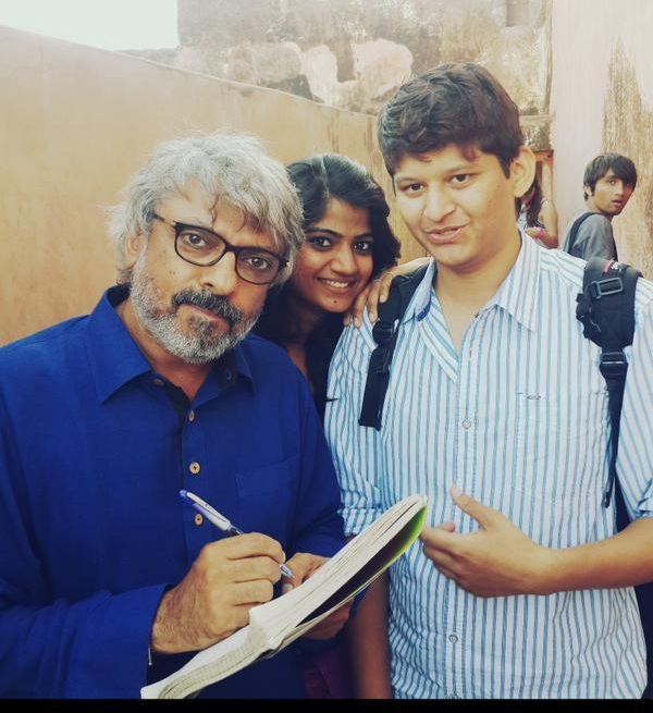 Sanjay Leela Bhansali Bajirao Mastani on location