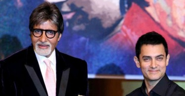 Amitabh Bachchan and Aamir Khan