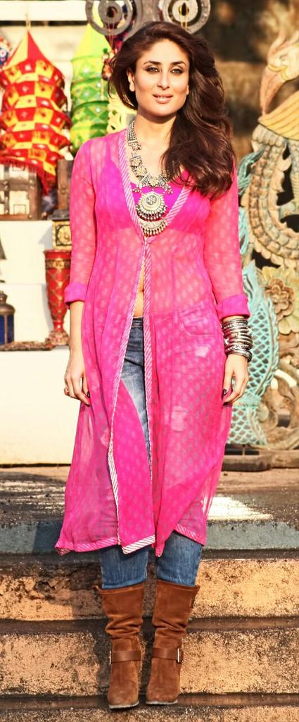Kareena Kapoor's look in Gabbar Is Back