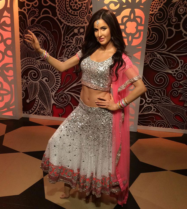 Katrina Kaif's wax statue at Madame Tussaud in London