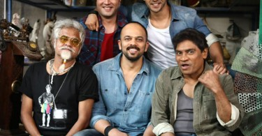 Rohit Shetty with team Dilwale on location