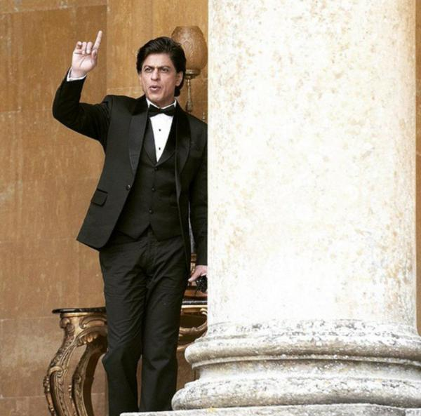 SRK shooting for Fan at Blenheim Palace