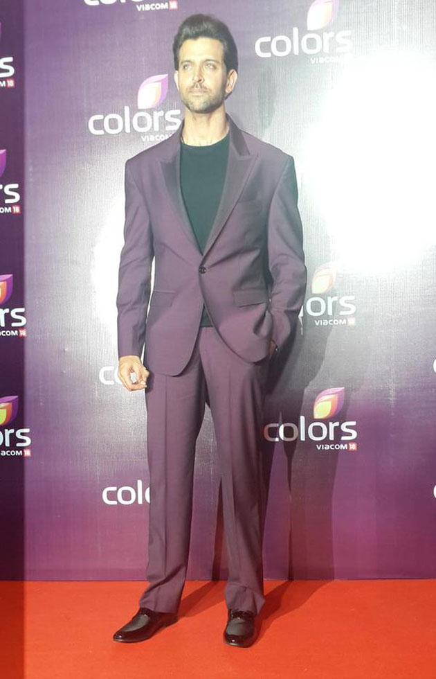 Hrithik Roshan at Colors Leadership Awards 2015