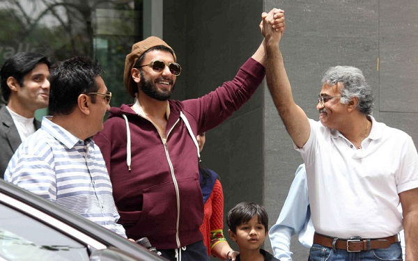 Ranveer Singh returns home after shoulder surgery