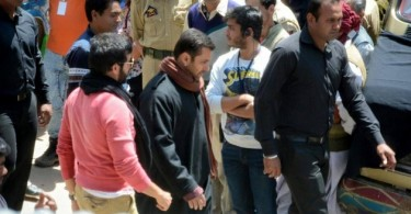 Salman Khan, Kabir Khan Bajrangi Bhaijaan on location