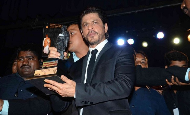 Shahrukh Khan honoured with Dadasaheb Phalke award