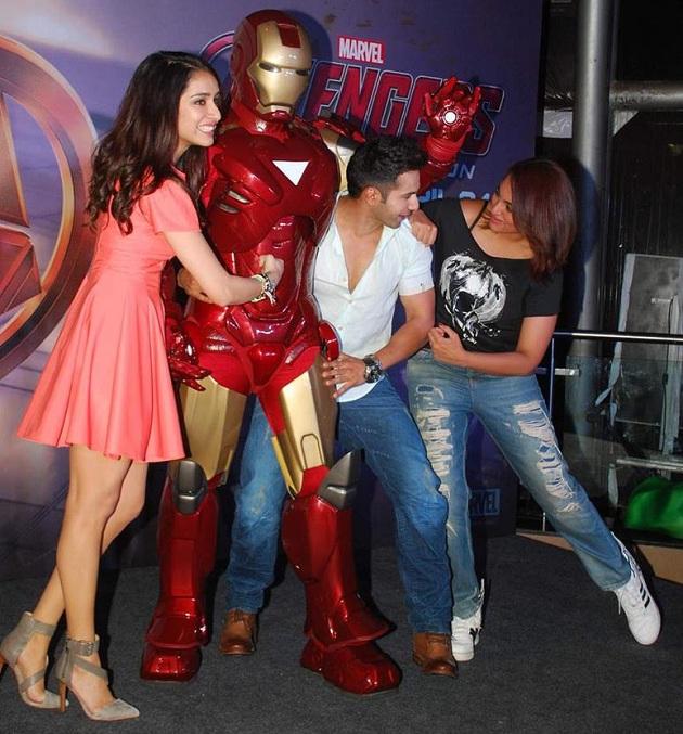 Shraddha Kapoor, Varun Dhawan and Sonakshi Sinha