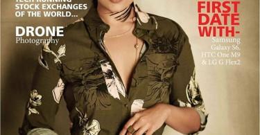 Sonakshi Sinha on Exhibit Magazine Cover